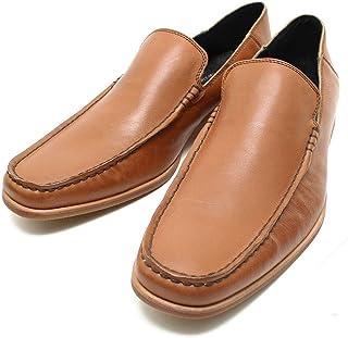 [フープディドゥ] 304764 ソフトレザー2WAYスリッポン キャメル 本革ビジネスシューズ カジュアル/革靴/仕事用/メンズmk