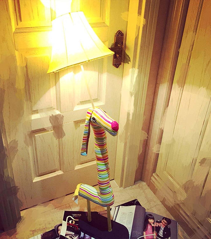XiuXiu Wohnzimmer Einfache Moderne Kreative Cartoon Ktzchen LED Stehlampe Nordic Grünikale Tischlampe Persnlichkeit Schlafzimmer Stehlampe (Farbe   Button Switch)