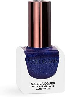Colorbar Nail Lacquer, Disco Blue, 12 ml