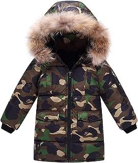 jieGREAT 3-8 Years Old Toddler Coat Kids Baby Girls Boys Butterfly Hooded Winter Warm Hooded Windproof