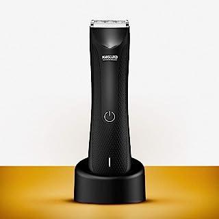 اصلاح کننده موی کشاله موی MANSCAPED ، موبر چمن ™ 3.0 ، سر تیغه های سرامیکی قابل تعویض ، کلیپس مرطوب و خشک ضد آب ، اسکله شارژ ایستاده ، تیغ بهداشتی مردانه