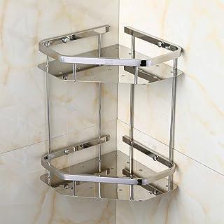 Étagère De Douche Étagère De Salle De Bain, Acier Inoxydable Simple Salle De Bains Moderne Toilette Hôtel Triangle Support...