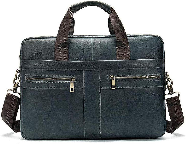 Multifunktions-Business-Aktentasche Aus Leder Für Herren, Handtasche