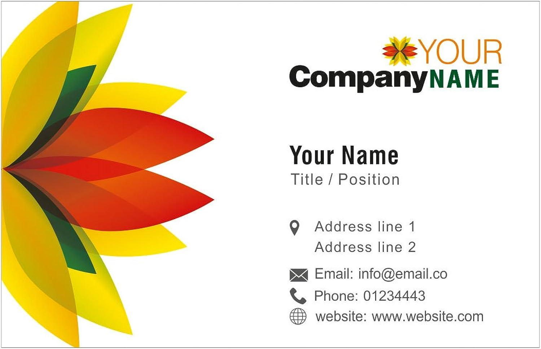 Traditionelle Blaumen personalisierte Visitenkarten Kundenspezifische Berufsdesigner Visiting Card- Vorder B01EUKWU1W  | Ein Gleichgewicht zwischen Zähigkeit und Härte