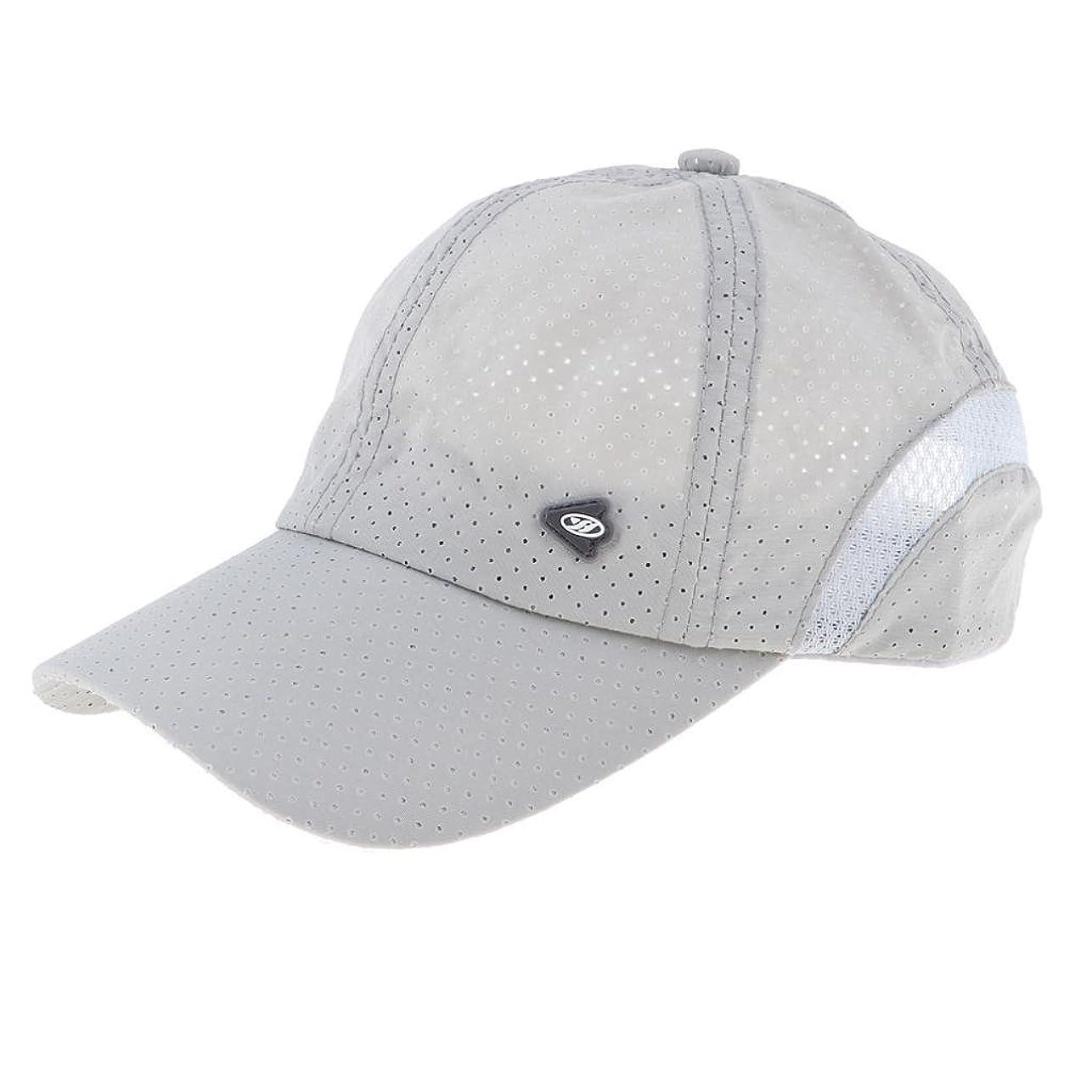 準拠前任者叫ぶPrettyia 野球帽 速乾帽 釣り キャップ ヒップホップ 調節可能 男女用 メッシュ 調節可能 贈り物