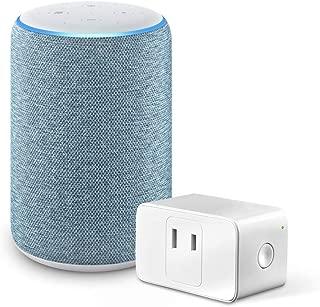 Echo (エコー) 第3世代 - スマートスピーカー with Alexa、トワイライトブルー + Meross WiFi スマートプラグ MSS110JP