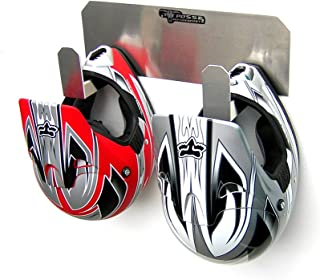 Pit Posse Dual Helmet Rack Holder Aluminum - coolthings.us