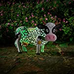 Smart Garden Solar Daisy The Cow Silhouette Light Garden Light Figure Ornament 3