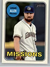 2018 Topps Heritage Minor League #147 Logan Allen MLB Baseball Card NM-MT
