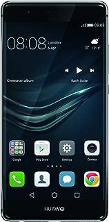 Huawei P9 EVA-L09 32GB Titanium Grey, 5.2 Inch, 12 MP, GSM Unlocked International Model, No Warranty