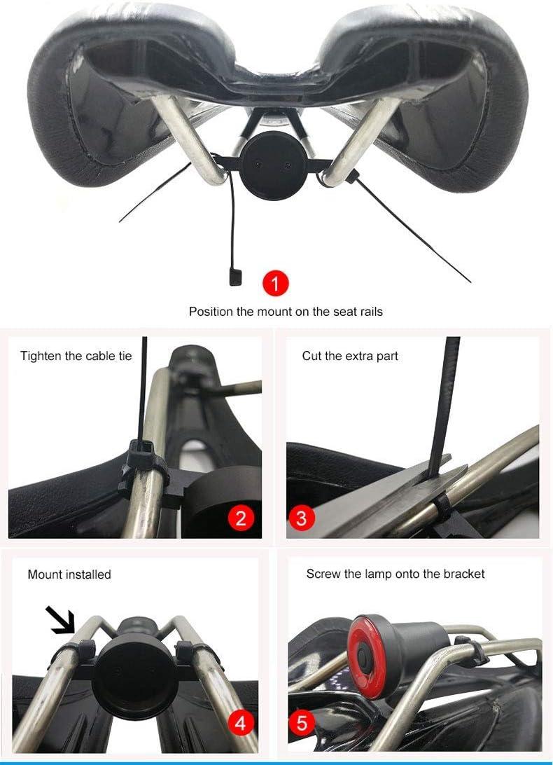 Sunsune Xlite100 Intelligent Bike Tail Light,USB Charging LED Induction Brake Lamp,Waterproof Night Warning Cycling Flashlight