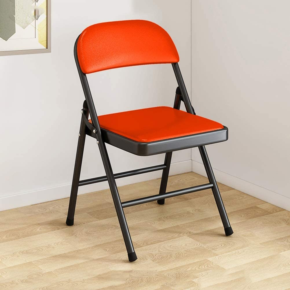 YPEZ Folding Camp Max 59% OFF Chair famous with Legs Durable wi Iron Chairs