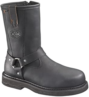 Harley-Davidson Men's Bill Steel Toe Harness Boot