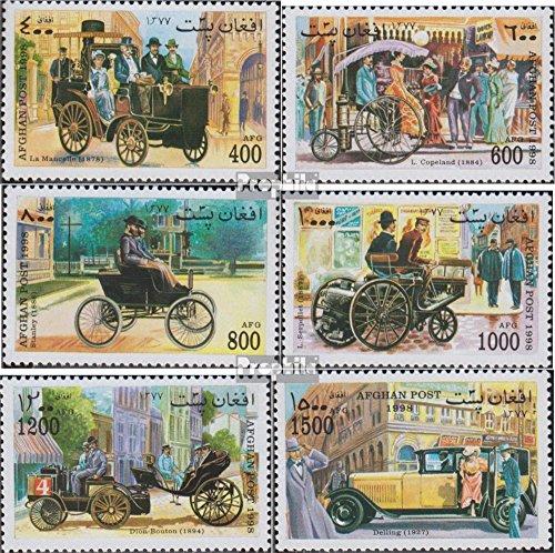 Prophila Collection Afghanistan 1791-1796 (Completa Edizione) 1998 Vecchio Automobile (Francobolli per i Collezionisti) Traffico Stradale