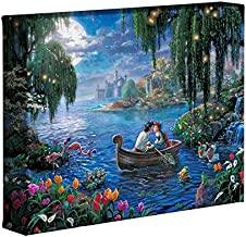 Thomas Kinkade Studios Little Mermaid II 8 x 10 Gallery Wrapped Canvas