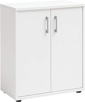 Armoire de Rangement pour Meubles, Blanc, env. 65,1 x 34,5 x 77,3 cm.