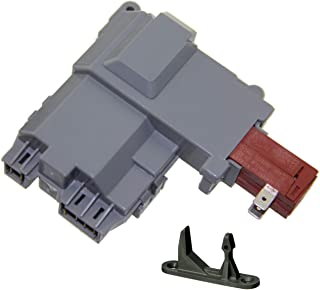 131763202 Door Lock Switch for Frigidaire Washer Door Latch Replacement and 131763310 Striker 131763255 131763256 131763310