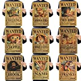 Skisneostype One Piece Wanted Posters Affiche de Papier Kraf
