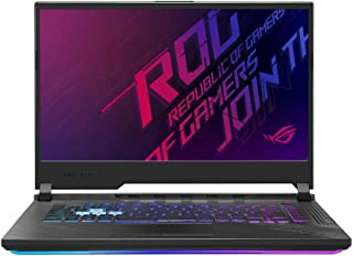 Asus ROG STRIX G512LW-HN069T STRIX G Gaming Laptop (Orignal Black) Intel Core i7-10750H Processor 2.6 GHz, NVIDIA GeForce RTX 2070, 8GB GDDR6, 1TB, 15.6 inch, Windows 10,Eng-Arb-KB