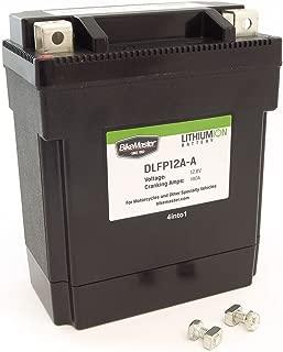 Bikemaster Lithium-Ion Battery - 12N12A-4A-1, YB12A-A, YB12C-A, YB12A-B - Compatible with Honda Kawasaki Yamaha
