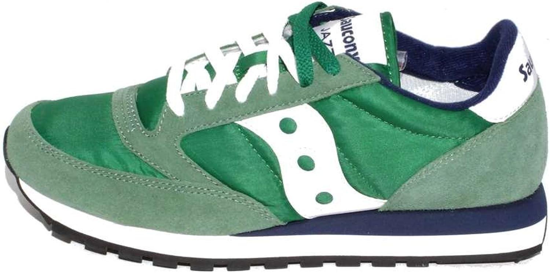 Saucony Jazz vert, blanc e bleutte Couleure  447