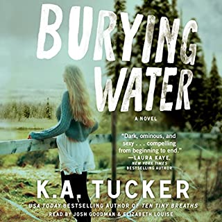 Burying Water audiobook cover art