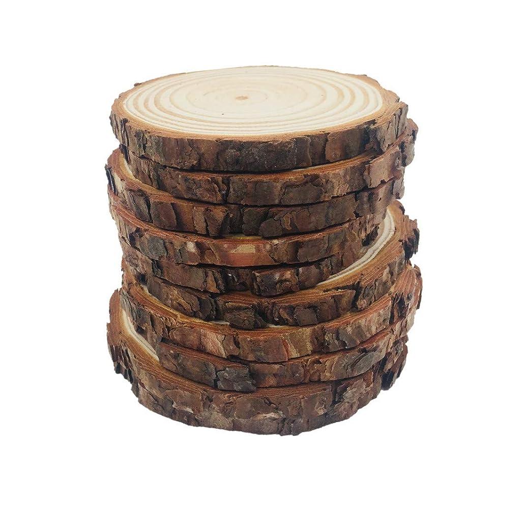 Natural Wood Slices 7 Pcs 4.0