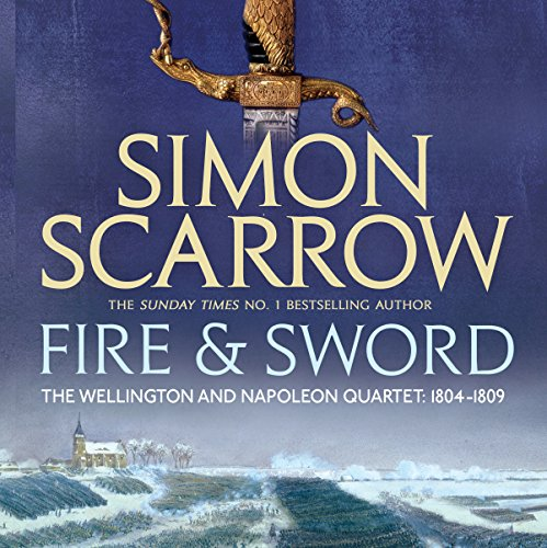 Fire and Sword audiobook cover art