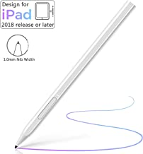 Stylus Pen for Apple iPad with Palm Rejection, Micoo Capacitive Pen for Apple iPad (7th Gen) iPad...