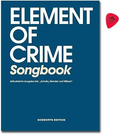 Element Of Crime - Libro de canciones para guitarra, canto con Dunlop Plek ovejas,
