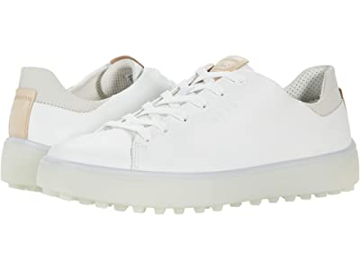 ECCO Golf Golf Tray Hydromax (Bright White/Cow Leather) Women