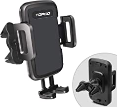 Car-Phone-Mount-Air-Vent Cell Phone Holder for Car 2019 New Universal Stand Hands-Free Smartphone Holder Cradle Compatible with iPhone XR/XS Max/8/7 Plus/6s/Samsung S10+/Note 9/S8 Plus/S7 Edge
