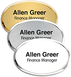 Best oval name plates Reviews