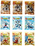 Lego Mixels Series 5 Complete Set of All Figures 41536 - 41544 by LEGO