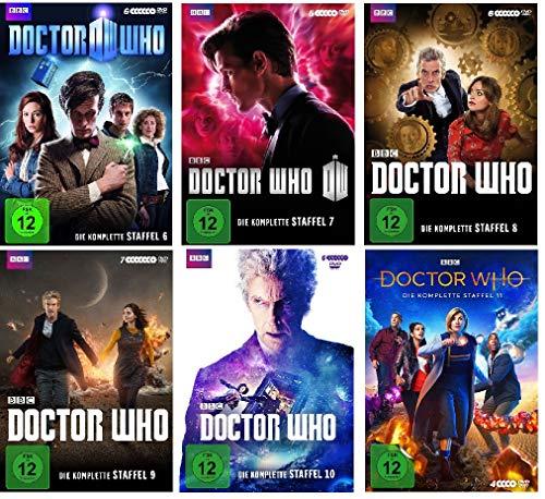 Doctor Who - Die komplette Staffel 6-11 (6+7+8+9+10+11) im Set - Deutsche Originalware [34 DVDs]