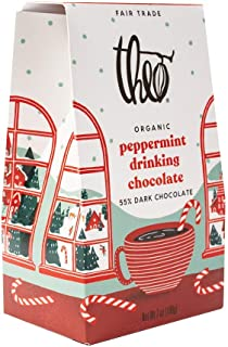 Theo Chocolate, Peppermint Drinking Chocolate, 7 Ounce