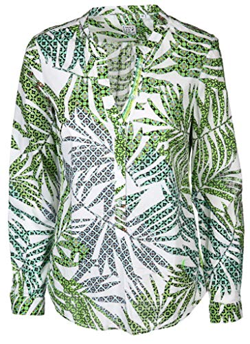 Emily van den Bergh Damen Bluse Größe XXXL Grün (grün)