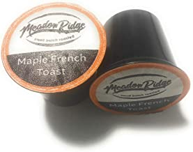 Meadow Ridge Maple French Toast 100% Arabica Coffee Single Serve Cups - 24 Count