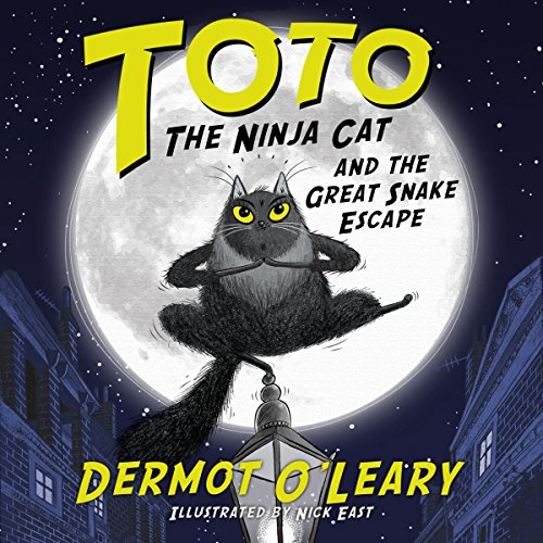Toto the Ninja Cat and the Great Snake Escape audiobook cover art