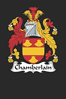 Chamberlain: Chamberlain Coat of Arms and Family Crest Notebook Journal (6 x 9 - 100 pages)