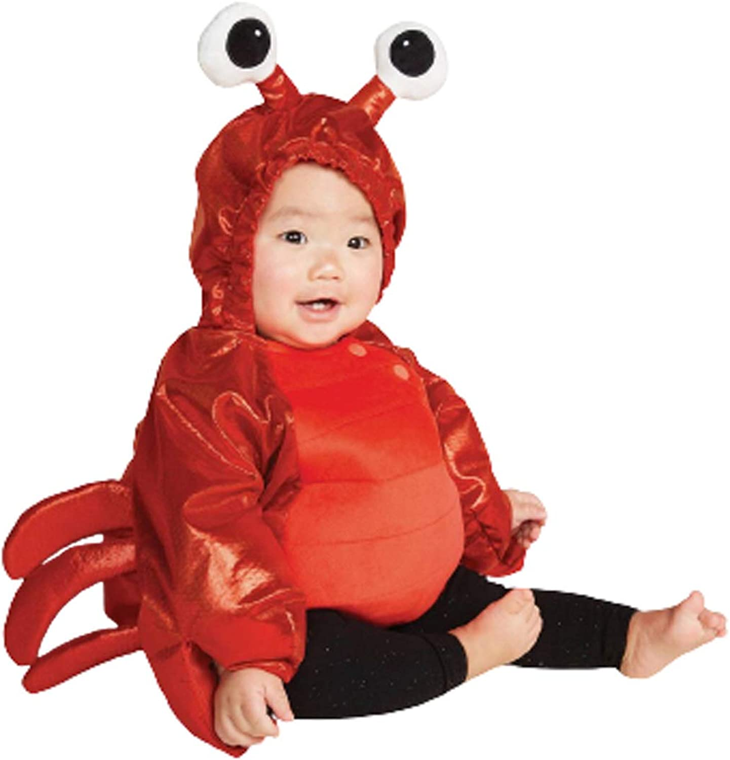 Boutique 9 Baby Unisex Holiday Lobster Hooded Pullover Dress Up Pajama Sweater Warm Cozy Fluffy Outfit