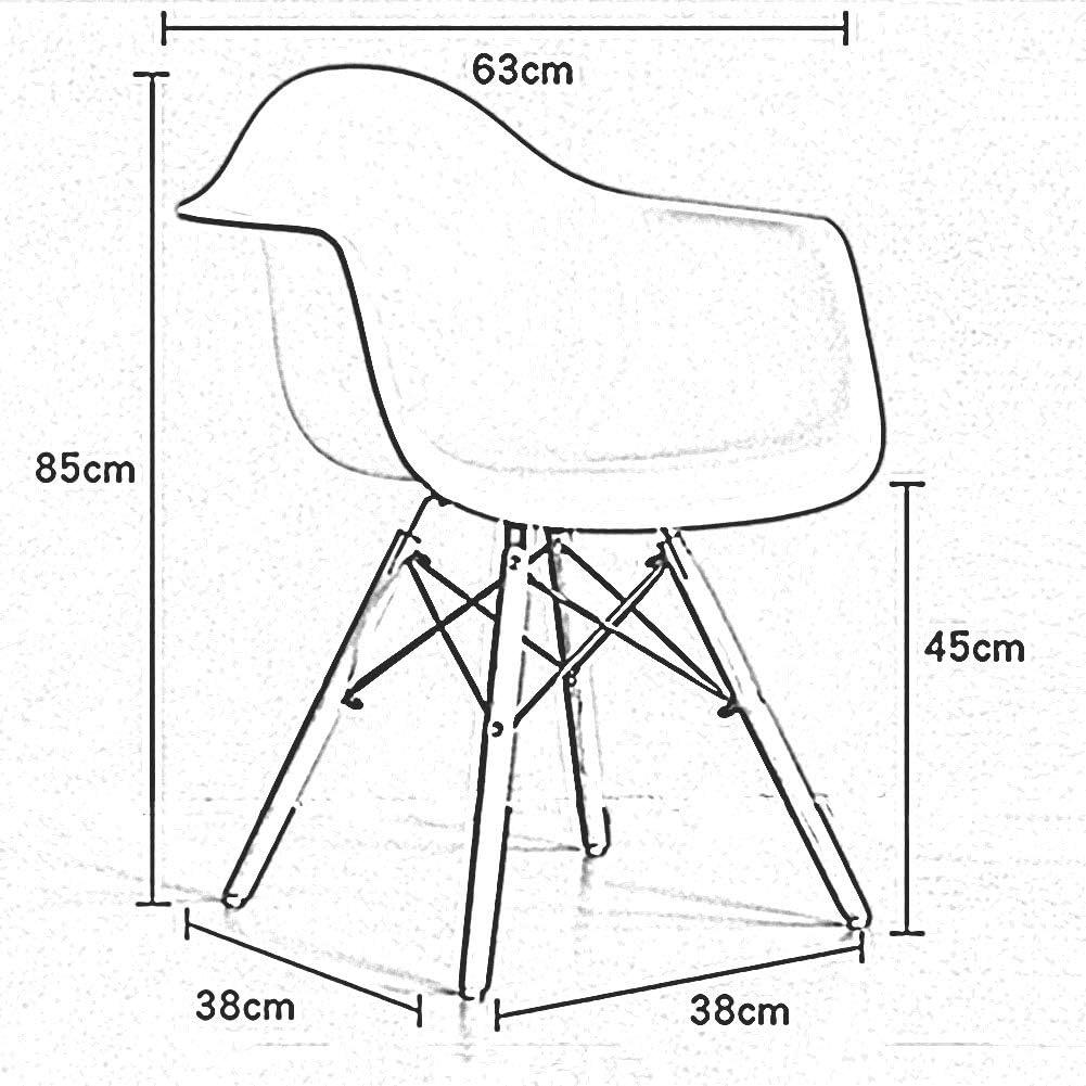 HURONG168 Chaises de cuisine Accueil dinant la chaise chaise d'ordinateur Nordic chaise chaise de bureau chaise de discussion siège lounge (Couleur : Blanc) Rose