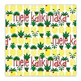 Hawaiian Wrapping Paper 2 Rolls Mele Pineapple Parade