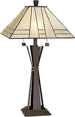 Amazon.com: Lite Fuente c41117 2 luz lámpara de mesa con ...