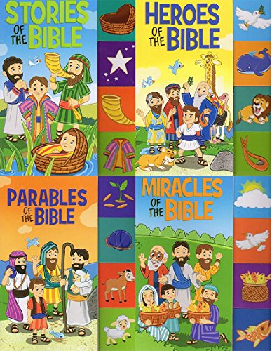 The Stories of the Bible Tabbed Books - Tabbed Board Books (Set of 4 books)