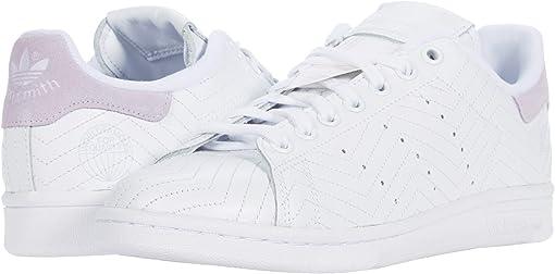 Footwear White/Footwear White/Purple Tint