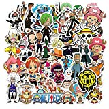 DKSANJ Anime 2019 One Piece Luffy Stickers For Car Laptop PVC Backpack Home Decal Pad Bicycle...