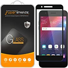 (2 Pack) Supershieldz for LG (Harmony 2) Tempered Glass Screen Protector, 0.33mm, (Full Screen Coverage) Anti Scratch, Bubble Free (Black)