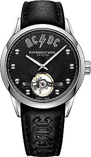 ساعة ريموند ويل فريلانسر نسخة محدودة للرجال أوتوماتيك مينا سوداء 2780-STC-ACDC1