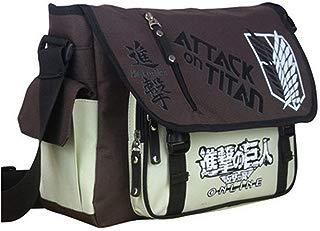 Anime Messenger Bag Japanese Oxford Fabric School Shoulder Cosplay Satchel (A)